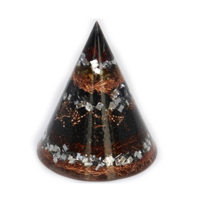 Оргoнитен конус: тамян и черен турмалин