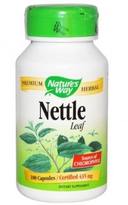 КОПРИВА - при умора и обща отпадналост - капсули 435 мг. х 100, NATURE'S WAY