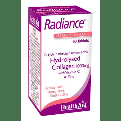 РАДИАНС - за здрава коса и красиви нокти -  за здрави коса и нокти - таблетки х 60, HEALTH AID