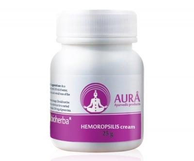ХЕМОРОПСИЛИС при фисури, възпаления и хемороиди  25 гр.крем