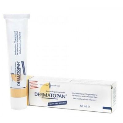 Dermatopan за суха, чувствителна, люспеща се кожа, при екземи и псориазис 50 мл.