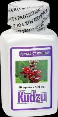 КУДЗУ - освежава при махмурлук - капсули 500 мг. х 60, TNT 21