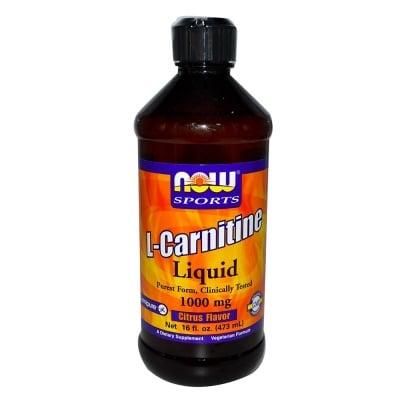 L - КАРНИТИН ЦИТРУС течен 3000 мг-премахва хроничната умора - 473 мл., НАУ ФУДС