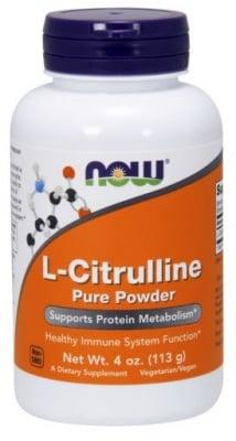 ЦИТРУЛИН премахва на млечната киселина от мускулите 113.6 гр., НАУ ФУДС