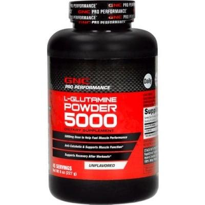 L - ГЛУТАМИН прах 5000 мг. 227 гр. GNC