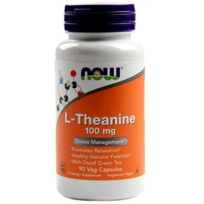 ТЕАНИН -ИМА УСПОКОЯВАЩО ДЕЙСТВИЕ -100 мг. * 90капс., НАУ ФУДС