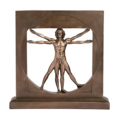 СКУЛПТУРА ВИТРУВИАНСКИ ЧОВЕК - по известната скица на Леонардо да Винчи, VERONESE