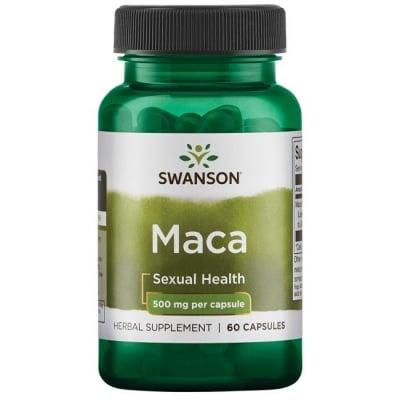 МАКА 500 мг. - стимулира потентността и мъжкото либидо * 60капс.
