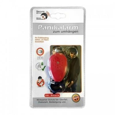 Лична аларма Panik за защита от джебчии, 105dB