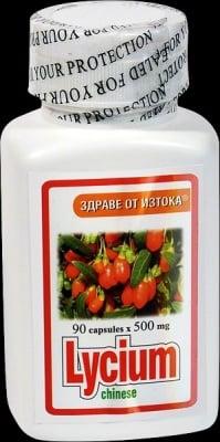 ЛИЦИЙ ЕКСТРАКТ - подмладява тялото и предпазва черния дроб - капсули 500 мг. х 90, TNT 21