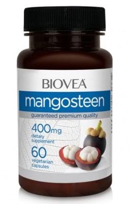 МАНГОСТИН - съдържа мощни антиоксидантни фитонутриенти - капсули 400 мг. х 60, BIOVEA