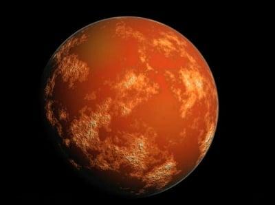 Марсианско торнадо - уникална снимка от повърхността на планетата Марс