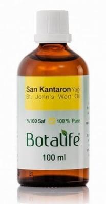 МАСЛО ОТ ЖЪЛТ КАНТАРИОН  - действа антидепресивно и успокоява кожата - 100 мл., БОТАЛАЙФ