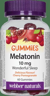 МЕЛАТОНИН ГЪМИС желирани таблетки 10 мг * 60 УЕБЪР НАТУРАЛС