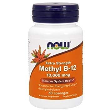 МЕТИЛ Б 12 5000 мкг. поддържа мозъчната функция * 60драже, НАУ ФУДС