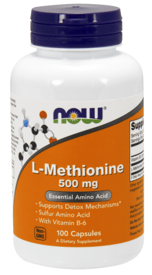 МЕТИОНИН 500 мг. * 100капс, НАУ ФУДС
