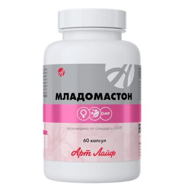 МЛАДОМАСТОН - предпазва от развитието на онкологични заболявания на женската репродуктивна система - 60 капс.