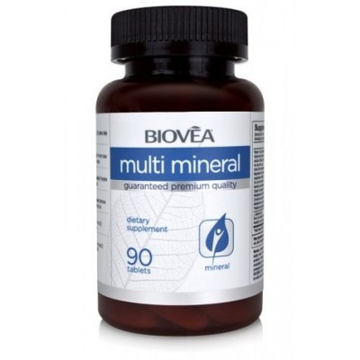 МУЛТИ - МИНЕРАЛИ за ензимната активност и всички биохимични реакции в организма* 90табл., БИОВЕА