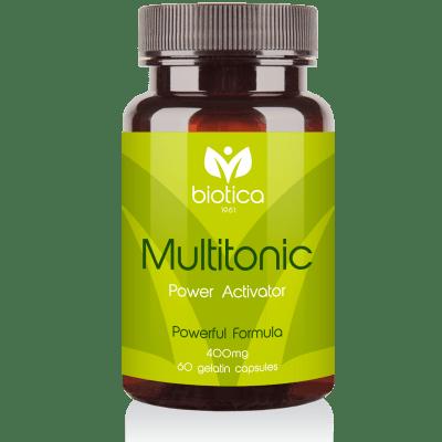 МУЛТИТОНИК -  подобрява цялостното състояние на организма - капсули 400 мг. х 60 бр., MEGASMART BULGARIA