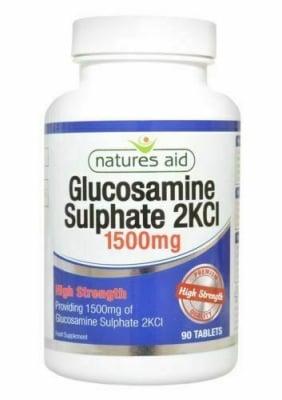 ГЛЮКОЗАМИН СУЛФАТ 1500 мг * 90 таблетки