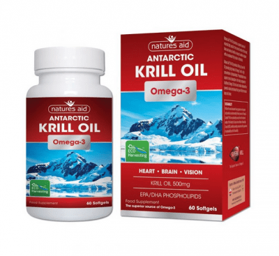 МАСЛО ОТ КРИЛ (ЗООПЛАНКТОН) 500 мг * 60 капсули