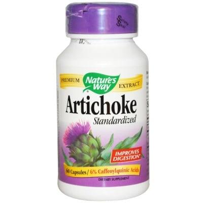 АРТИШОК - подкрепя храносмилането - капсули 450 мг. х  60, NATURE'S WAY