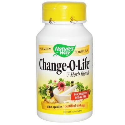 ЧЕЙНДЖ - О - ЛАЙФ - тонизира нервната система, подкрепя женския организъм по време на менопауза - капсули 440 мг. х 100, NATURE'S WAY
