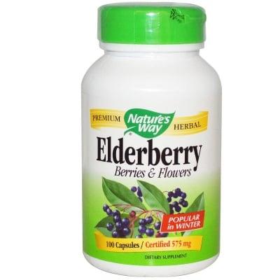 ЧЕРЕН БЪЗ - при кашлица и простудни заболявания - капсули 575 мг. х 100, NATURE'S WAY