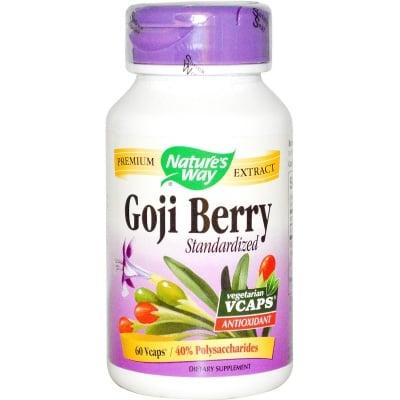 ГОДЖИ БЕРИ - супер храна и мощен антиоксидант - капсули 500 мг. х 60, NATURE'S WAY