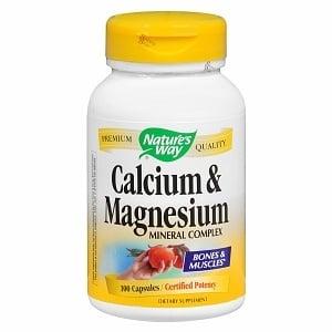 КАЛЦИЙ МАГНЕЗИЙ -  за здрави кости, зъби и мускули - капсули х 100, NATURE'S WAY