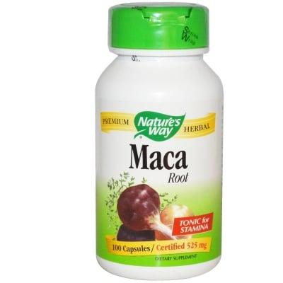 МАКА КОРЕН - ускорява заздравяването на рани, за здравето на косата,зъбите и ноктите - капсули 525 мг. х 100, NATURE'S WAY