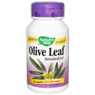 МАСЛИНА ЛИСТ - понижава холестерола и кръвното налягане - капсули 470 мг. х 100, NATURE'S WAY