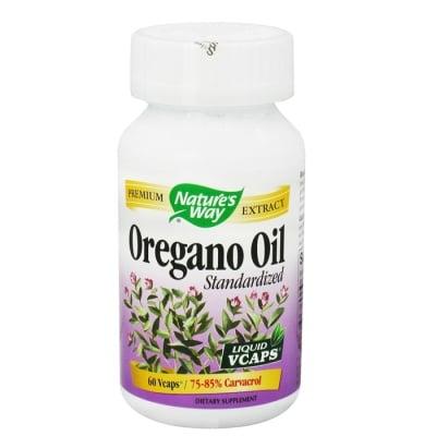 РИГАН МАСЛО - антиоксидант, подкрепя функциите на дихателните пътища -  капсули 50 мг. х 60, NATURE'S WAY
