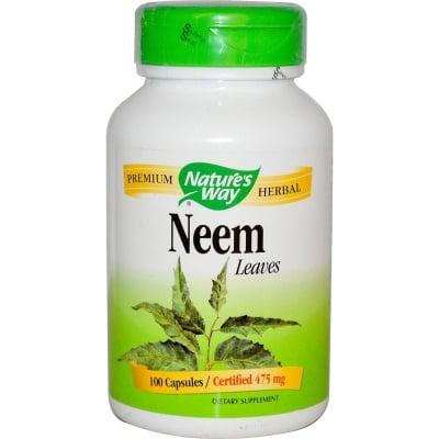 НИЙМ  - за доброто здраве на кожата - капсули 475 мг. х 100, NATURE'S WAY