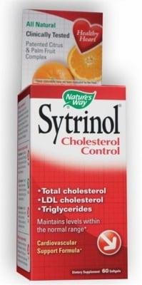 СИТРИНОЛ - понижава нивата на триглицеридите и холестерола - капсули 150 мг. х 60, NATURE'S WAY