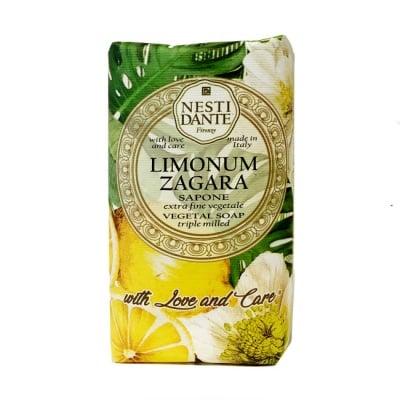 САПУН ЛИМОНИУМ ЗАГАРА цитрусова свежест от портокал и лимонов цвят 250 гр., НЕСТИ ДАНТЕ