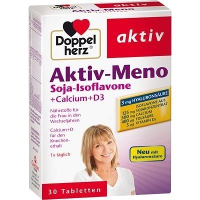 ДОПЕЛХЕРЦ АКТИВ МЕНО + Хиалуронова киселина - за жени в менопауза *30 табл., QUEISSER