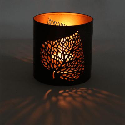 Листо - атмосферен свещник