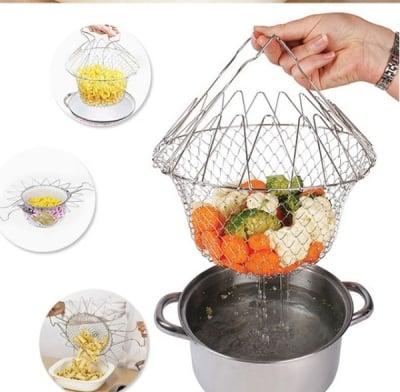 CHEF BASKET - Многофункционален кухненски уред, за бързо и лесно готвене, ТЕЛЕСТАР