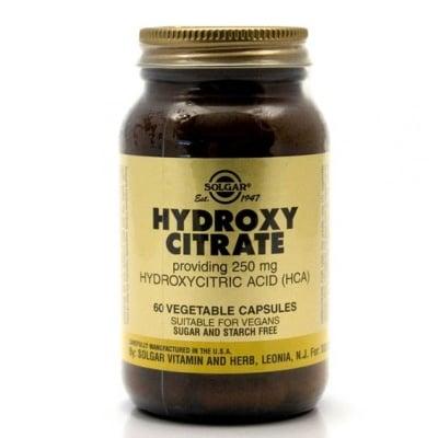 ХИДРОКСИ ЦИТРАТ250 мг. ускорява метаболизма * 60 капс., СОЛГАР