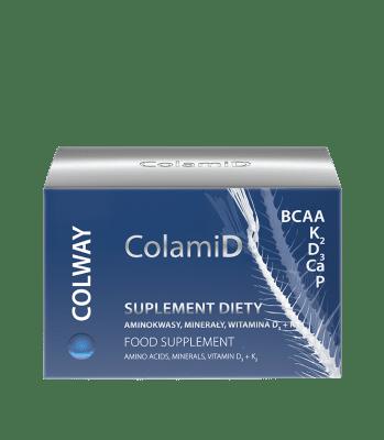 НАТУРАЛЕН аминокиселинен-минерален-витаминен комплекс COLAMID * 60капсули , КОЛУЕЙ