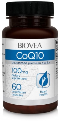 КОЕНЗИМ Q10 - катализатор на метаболизма - капсули 100 мг. х 60, BIOVEA
