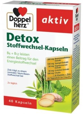 ДОПЕЛХЕРЦ АКТИВ ДЕТОКС КОМПЛЕКС - за детоксикация на организма *40 капс., QUEISSER