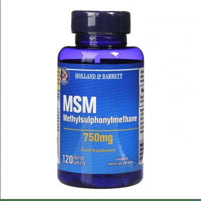 МЕТИЛСУЛФОНИЛМЕТАН таблетки 750 мг * 120 HOLLAND & BARRETT