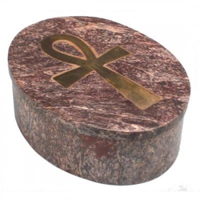 Анкх каменна кутия за бижута