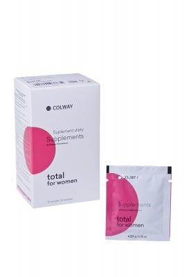 TOTAL FOR WOMEN комплекс от витамини и минерали за жени * 30саше, КОЛУЕЙ