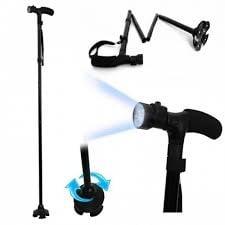 MAGIC CANE - Сгъваем бастун с LED светлини, ТЕЛЕСТАР