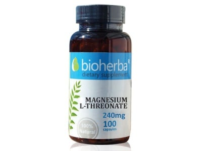 МАГНЕЗИЙ L-ТРЕОНАТ 240 мг. - 100капс., БИОХЕРБА