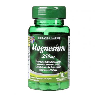 МАГНЕЗИЙ таблетки 250 мг. * 100 HOLLAND & BARRETT