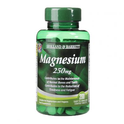 МАГНЕЗИЙ таблетки 250 мг. * 200 HOLLAND & BARRETT